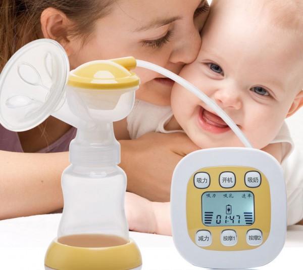 涨奶、奶藓?孕之宝电动吸奶器给妈妈们舒适喂养新体验