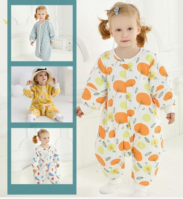爱布谷婴儿加厚纯棉睡袋防踢被    释放宝宝好动的天性
