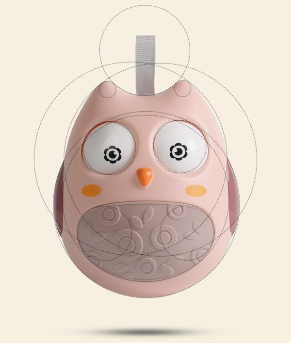 babycare宝宝不倒翁音乐早教玩具    给宝宝的生活增添乐趣
