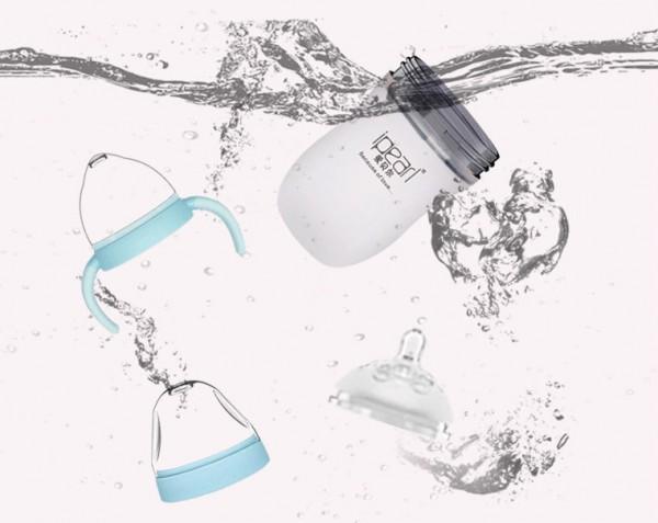 爱贝尔婴儿硅胶奶瓶 防母乳 断奶奶瓶