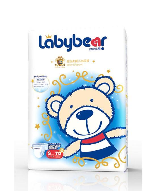 拉比小熊婴儿纸尿裤 来自荷兰皇家的天然守护