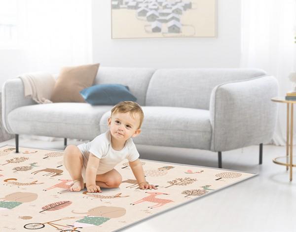 曼龙XPE宝宝爬行垫 用心呵护宝宝健康成长