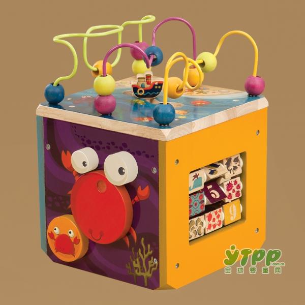 B.toys早教益智木立方百宝箱   动手又动脑 助力宝宝早教启蒙