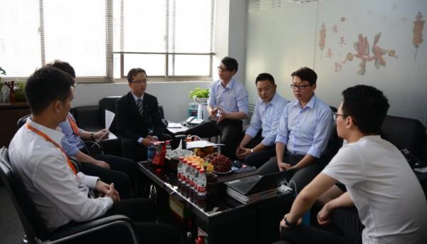 台湾迈可先生广告事业股份有限公司代表团亲临全球婴童网访问