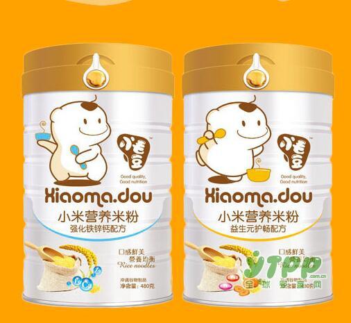 小毛豆食品系列——小米营养米粉好营养·好吸收