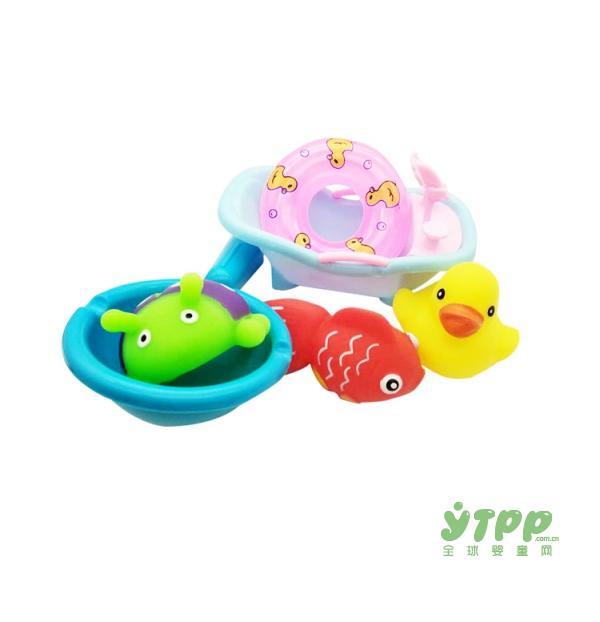 夏季宝宝不喜欢洗澡怎么办  卡趣婴儿童戏水洗澡玩具好玩又有趣