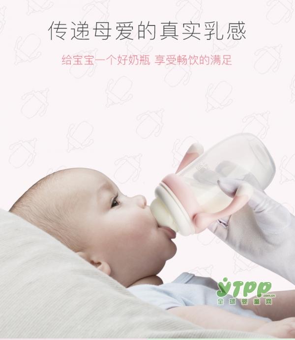 婴儿玻璃奶瓶什么牌子好 新贝防胀气硅胶宽口径玻璃奶瓶