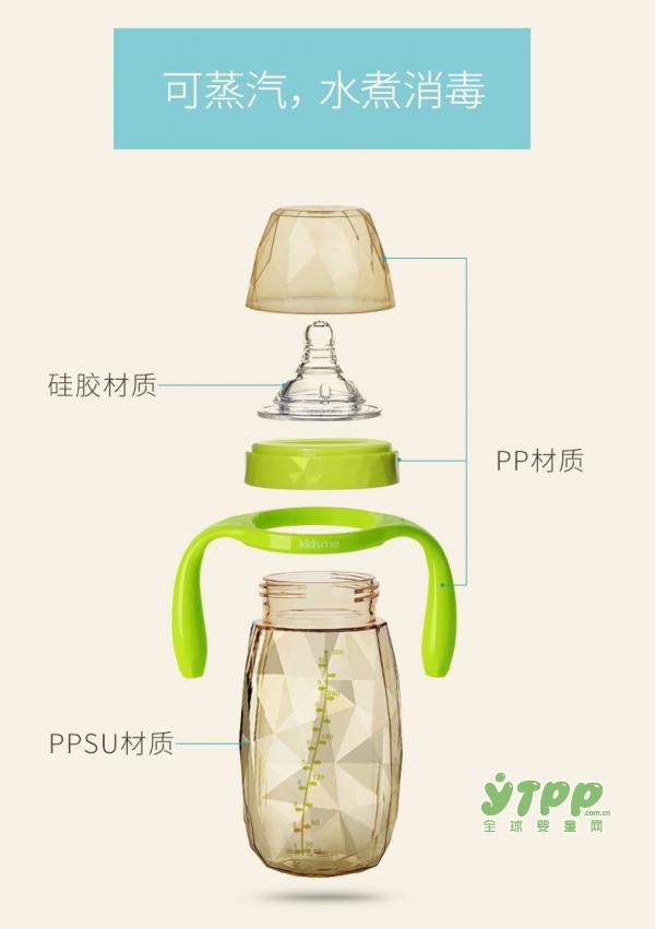 亲亲我婴儿ppsu宽口砖石奶瓶 让哺喂也成为一种时尚