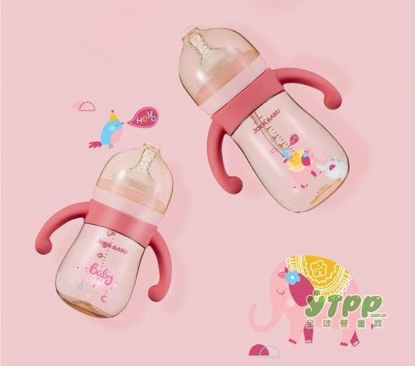 小袋鼠巴布PPSU宽口径防胀气奶瓶   科学防呛•让宝宝爱上喝奶