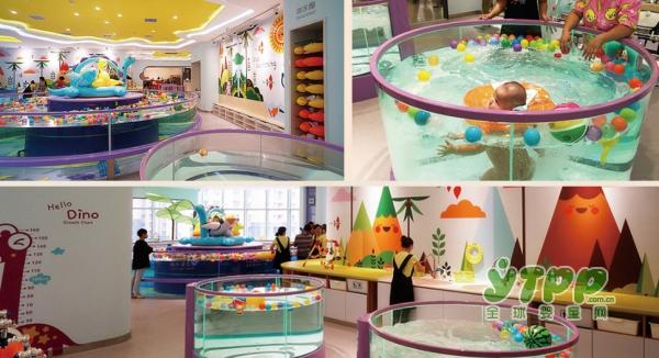 麒米优选生活馆特色儿童乐园区  让孩子久玩不腻