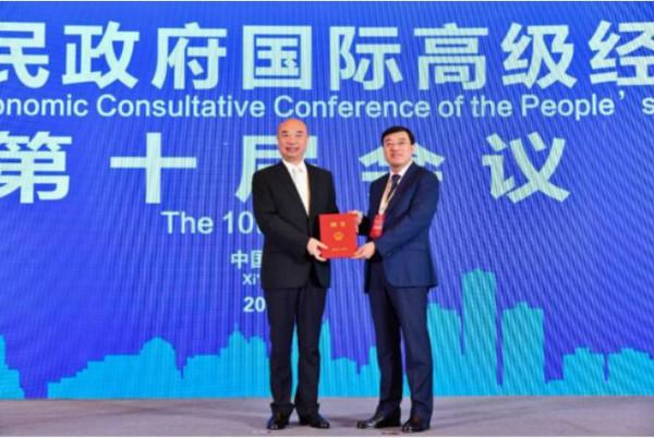 """伊利集团潘刚为陕西乳业发展建言献策  愿与陕西省携手并肩、共同把握""""一带一路""""建设的机遇"""