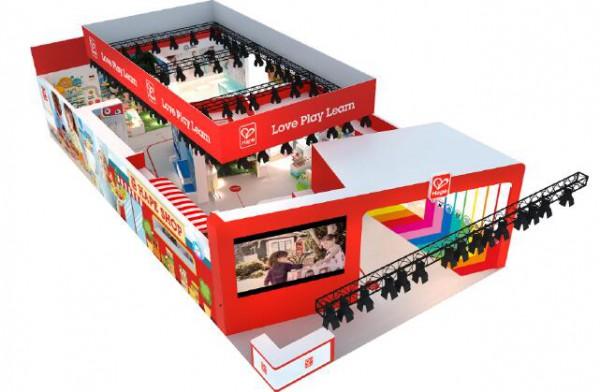 Hape巨型展位亮相2019中國玩具展,多品牌多模式打造全新布局