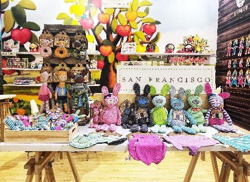 天然有机棉塑造环保新时尚 苹柏Apple Park亮相2019CTE中国玩具展