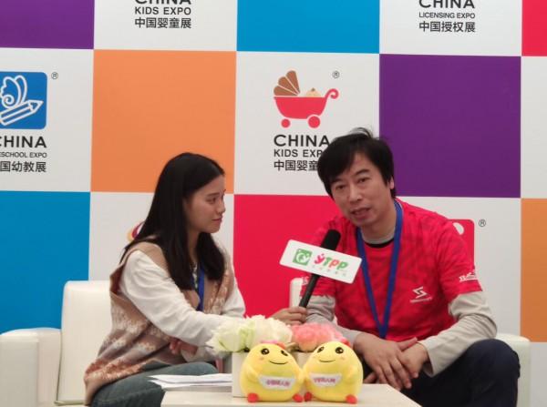 CKE中国婴童展全球婴童网专访:圣巴(上海)文化传播有限公司CEO-顾卫峰