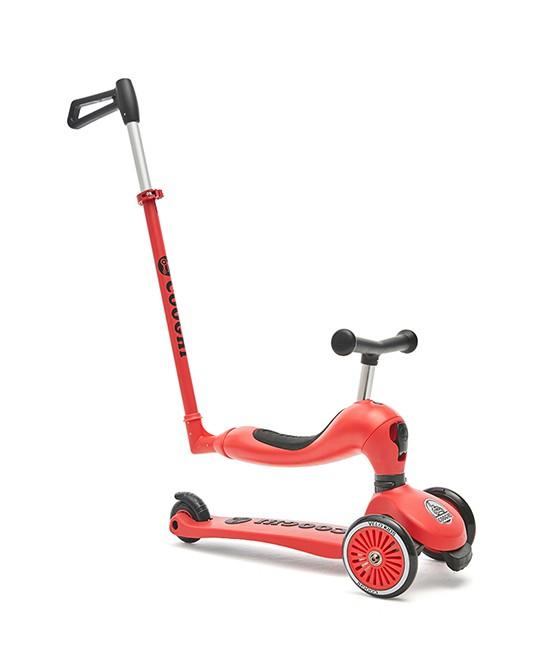 酷騎兒童多功能滑板車 讓寶寶在玩耍的同時增強運動能力