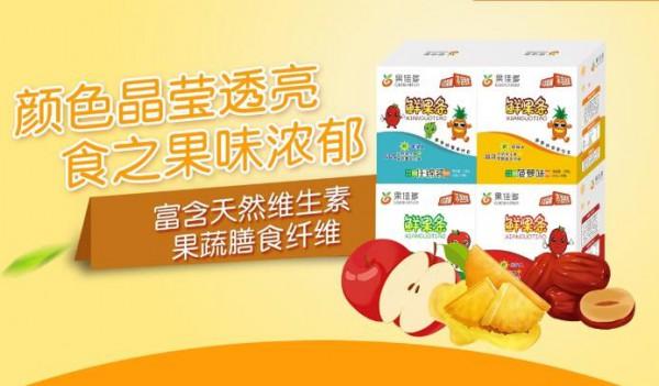 果佳多鲜果条好吃又营养  宝宝零食好选择