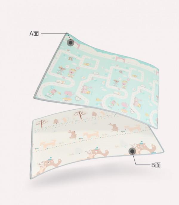 澳贝xpe环保宝宝泡沫爬行垫   环保加厚·用心呵护宝宝每一步