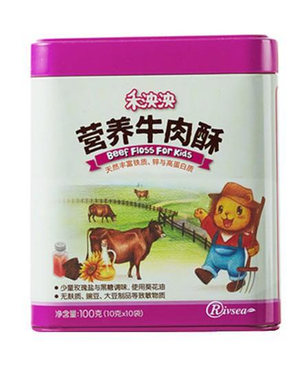 亚博-禾泱泱营养肉酥营养健康·香味诱人 丰富宝宝的营养与味觉_婴童食品网