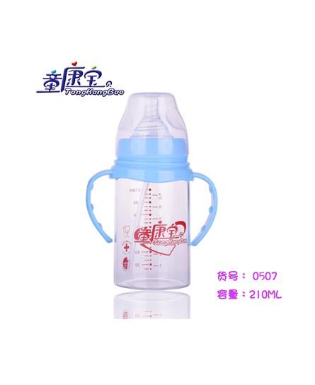 童康宝pp奶瓶安全无毒,经久耐用是更多妈妈的选择
