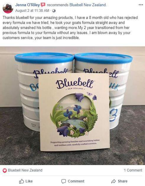 Bluebell宝乐贝儿年度盘点:手握两大明星产品,以品质收获消费者信任