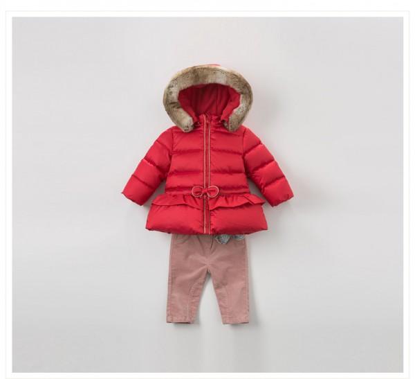 davebella戴维贝拉童装  婴童幼儿羽绒衣服