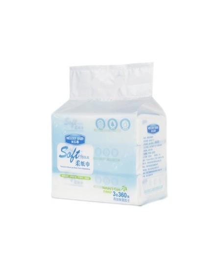 米乐蒂柔纸巾 原生态无添加温和不刺激宝宝肌肤