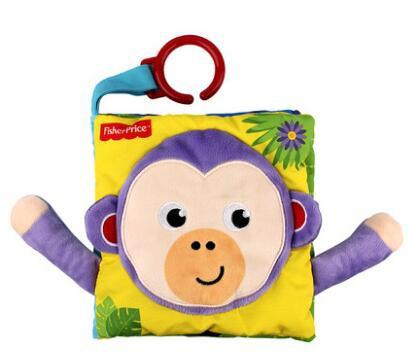 费雪宝宝撕不烂早教益智布书  让宝宝趣味玩耍•欢乐学习
