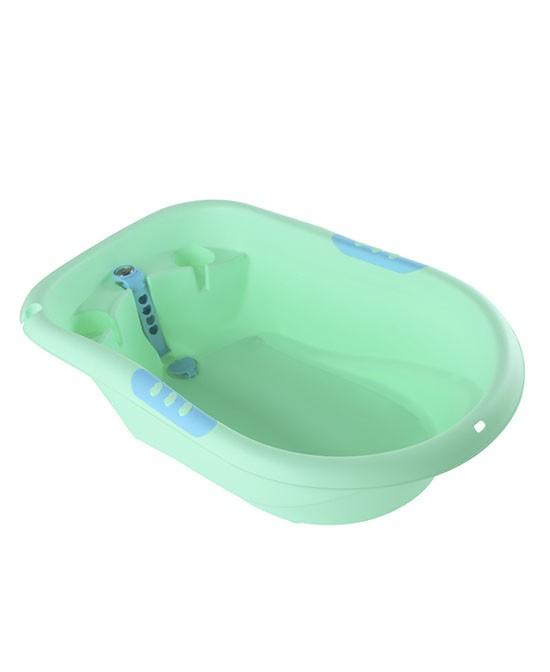 婴儿浴盆怎么选?雅亲婴儿浴盆让宝宝爱上洗澡