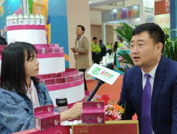 2019京正•北京国际孕婴童展:上海哈三集团安董接受了全球婴童网记者的采访