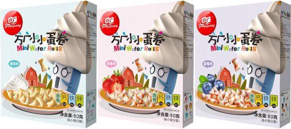 方广小小蛋卷六种口味全新升级 传承百年经典工艺