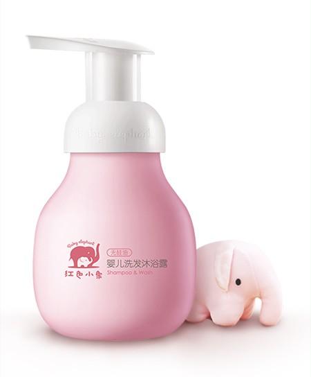 好物推荐:红色小象洗发沐浴露 万千家庭的真爱之选