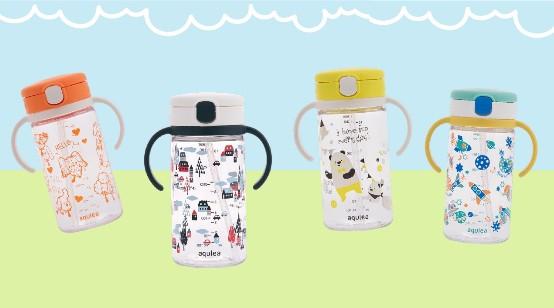利其尔Richell国内限定新款儿童水杯上市