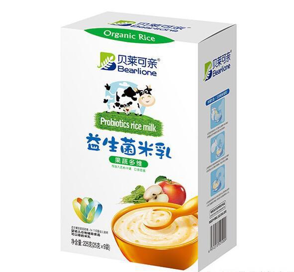 贝莱可亲益生菌米乳营养均衡更齐全  呵护宝宝的娇嫩肠道健康