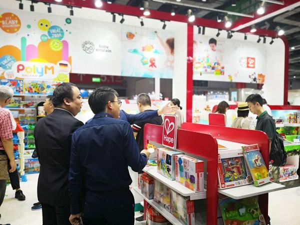 第19届CBME孕婴童展正式开幕   hape积木玩具品牌备受瞩目