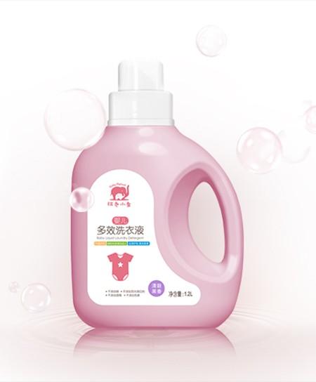 紅色小象嬰兒洗衣液怎么樣?愛無添加 陪寶寶安然度夏