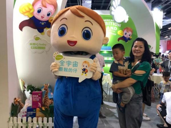 美國iQ baby亮相第19屆CBME孕嬰童展大放異彩