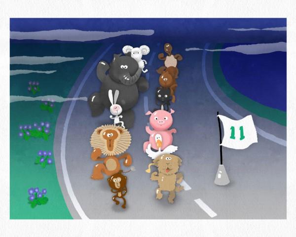 爱奇艺儿童平衡车主题成长节目《小骑手!冲啊》 另辟亲子类节目新赛道