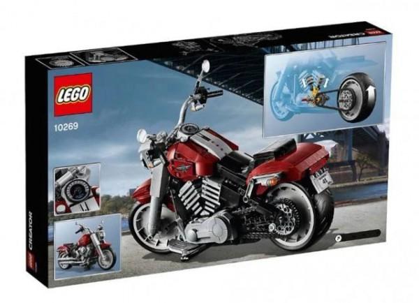 哈雷&乐高联名推出一款潮酷摩托车拼搭积木玩具,会玩出什么?