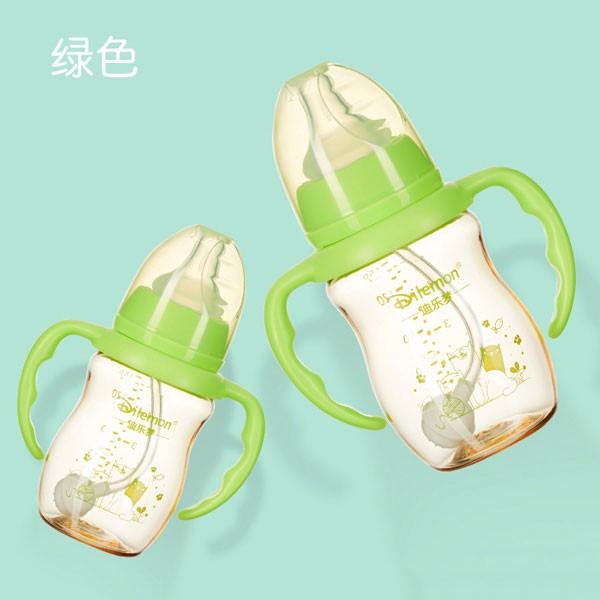 迪乐梦时尚PPSU感温奶瓶   耐高温达180度可以放心的给宝宝用
