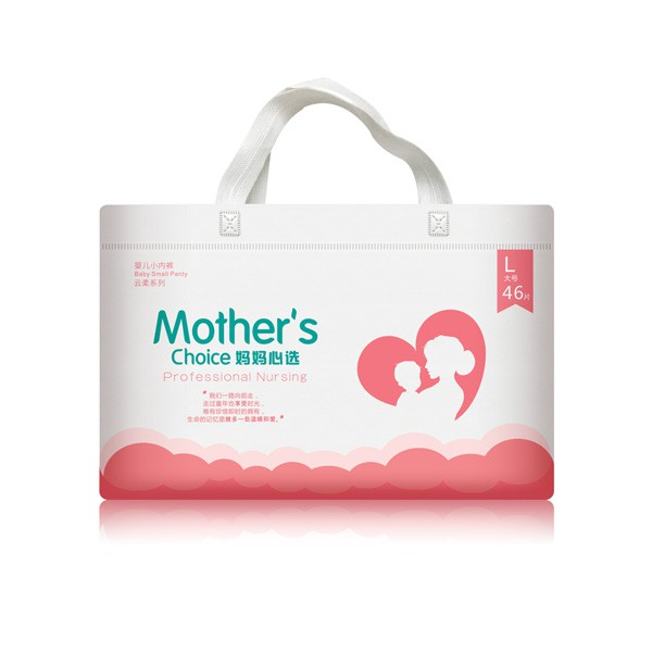 妈妈心选云纸尿裤  多次吸收不回渗•让宝宝的小屁屁时刻保持干爽舒适