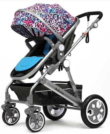 婴儿推车什么牌子好?贝丽可婴儿推车可坐可躺·收放自如更贴心