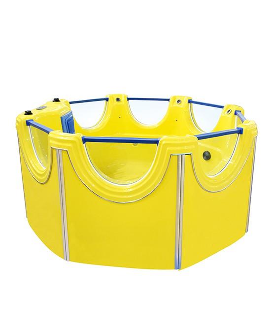 宝宝秋季游泳会感冒吗  维尼宝贝游泳池释放孩子的天性•打造精彩童年