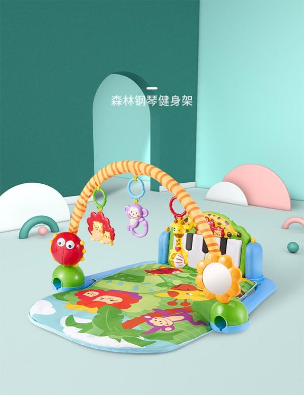 澳贝宝宝脚踏琴钢琴健身架   早教运动结合•解放爸爸妈妈的双手