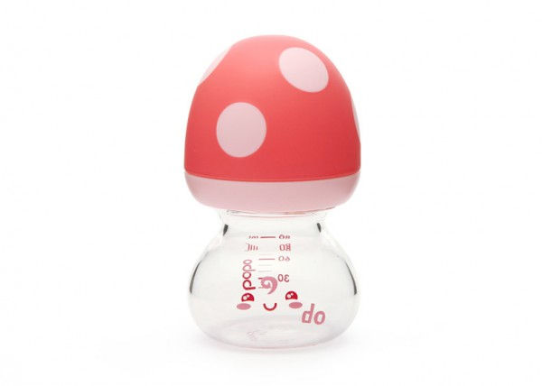 bobo樂兒寶新生兒寶寶寬口徑玻璃奶瓶 瓶肩不存奶?讓寶寶喝奶更加順暢
