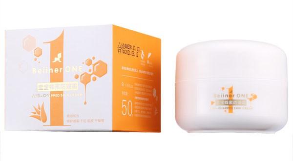 贝因儿旺宝宝蜂蜜防皴霜  植物精华成分•双重保湿、温和修复肌肤