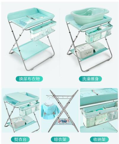 KUB可优比多功能护理婴儿床尿布台   给宝宝换尿布再也不用弯腰了