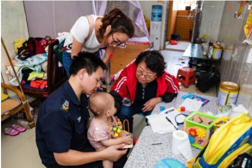 愛博恩兒保中心暑假辦系統公益援助,希望孩子體格健壯,積極向上