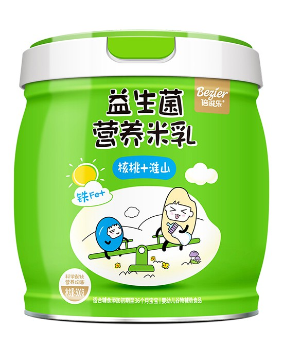 寶寶的第一口輔食吃什么好?倍滋樂益生菌營養米乳 營養均衡·好吃不上火