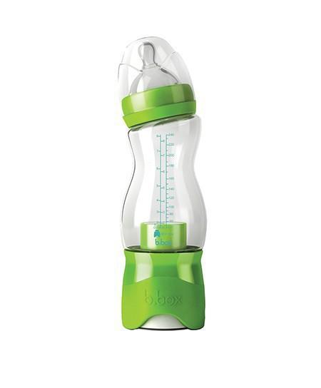 妈咪包必备好物:b.box防胀气奶瓶 宝宝喝奶更easy