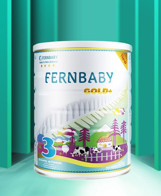 """给宝宝选什么奶粉好   Fernbaby斐婴宝婴幼儿配方调制乳粉安全""""0""""添加"""